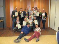 Geslaagden EHBO cursus Uithoorn 2015-2016